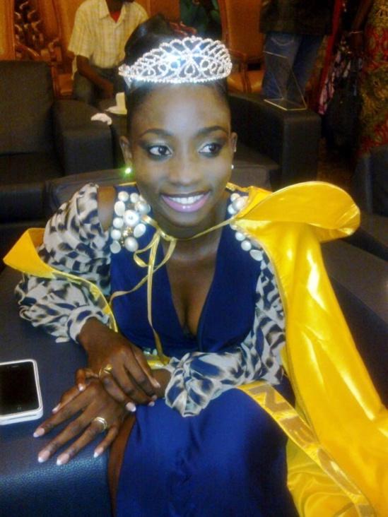 Marie Thérèse Ndiaye Miss Sénégal 2013: « J'avais hâte de rendre la couronne »