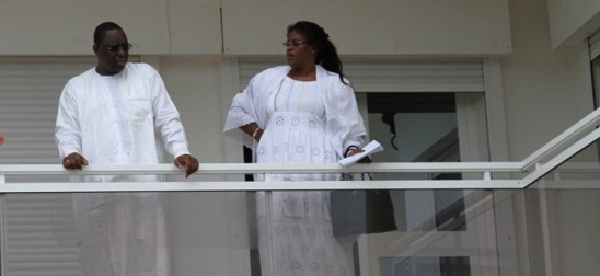 Mariéme Faye Sall et Macky Sall, toujours ensemble