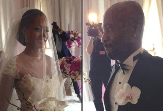 Le footballeur ivoirien Didier Zokora s'unit à la Miss Côte d'Ivoire, Séry Dorcas