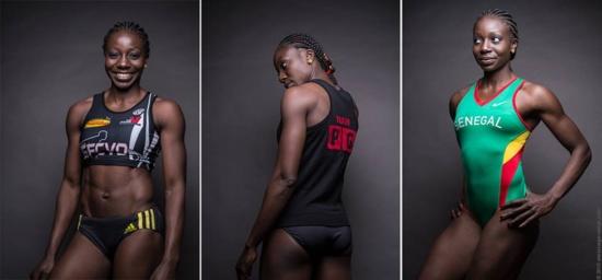 ADJA ARETTE NDIAYE : L'athlète modèle de pub et business woman