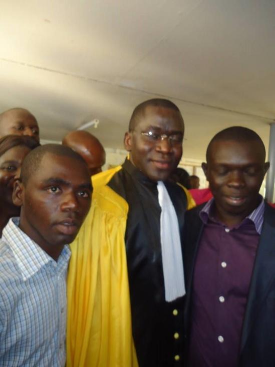 Zoom  Photo: L'ancien Ministre Alioune Sow a soutenu avec brio sa thèse de Doctorat d'État.