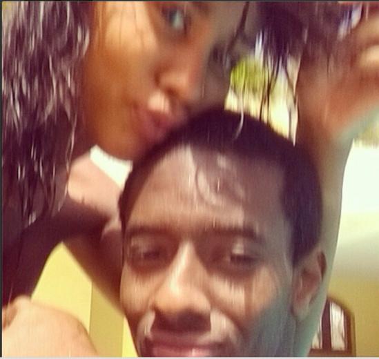Ibou Kara très complice avec sa femme Léa Mbacké