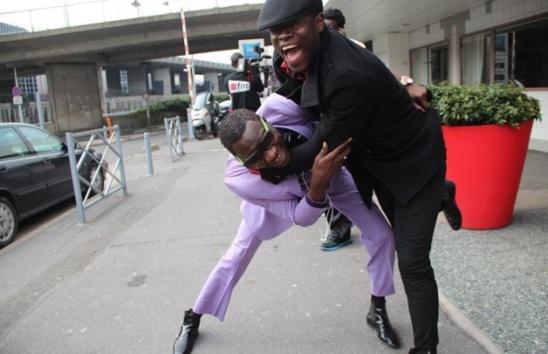 Ameth Thiou et Pape Ndiaye Thiopet se donnent spectacle à Paris!