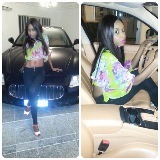 La belle Khadija Fall, un mannequin qui fait son entrée dans le cercle des VIP