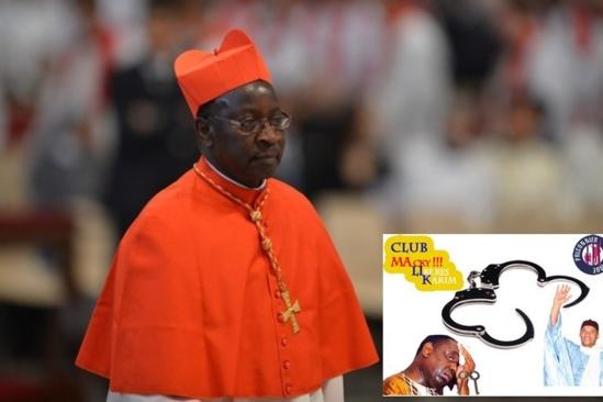 Le Club politique MALIK (Macky ! Libère Karim ) en audience chez le Cardinal Theodore Adrien
