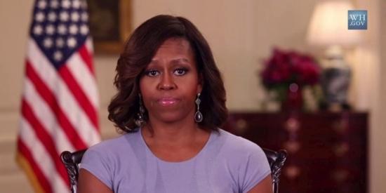 """Rapt des lycéennes au Nigeria : la """"révolte"""" de Michelle Obama"""