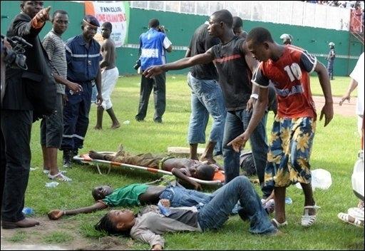 RDC: bousculade meurtrière dans un stade après un match de football