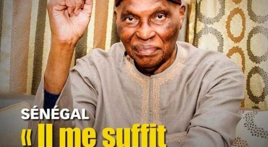 Édito Jeune afrique : Sa majesté Abdoulaye Wade