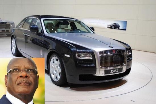 Le nouveau joujou d'IBK, une Rolls Royce à environ 655 millions de FCFA