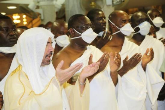 IMAGES - Macky et Madame Sall à la Mecque