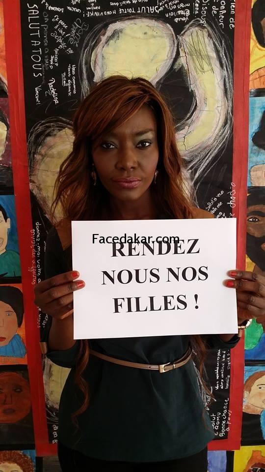 Coumba Gawlo Seck soutient les filles enlevées au Nigeria