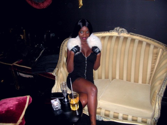 Iman de Channel, la femme de Monsieur Kebe