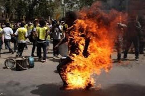Quartier Sam de Kaolack : Socé Diaw tente de s'immoler par le feu