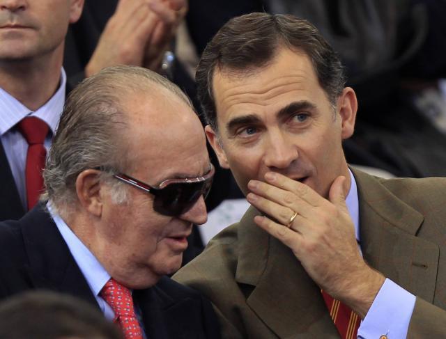 ROI D'ESPAGNE - Le président du gouvernement d'Espagne vante déjà les atouts du futur héritier