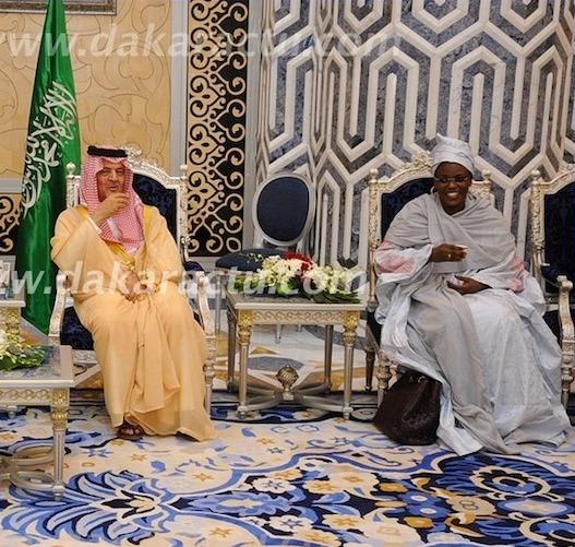 Un garde saoudien à Marième Faye Sall : «  Je n'ai jamais vu une femme de couleur être l'épouse d'un Président africain.