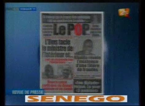 Vidéo: Revue de presse du 25juin 2014 (2Stv) Regardez