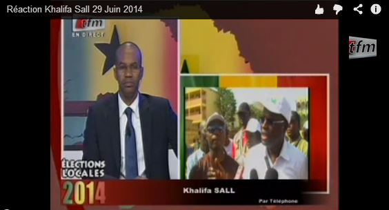 [AUDIO] Réaction Khalifa Sall 29 Juin 2014