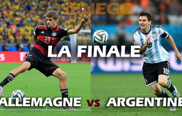 Finale de la XXème coupe du monde de football ce soir au Brésil