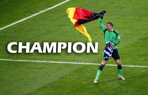 L'Allemagne championne du monde pour la 4ème fois