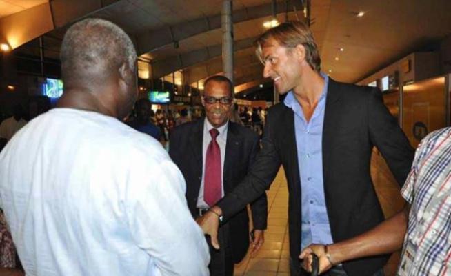 Hervé Renard à Abidjan 24heures aprés désignation à la tête des Eléphants