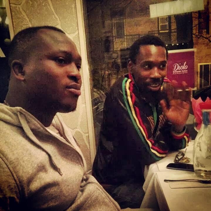 Modou Lo rencontre Bouba Kiroukou au Canada