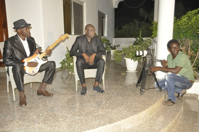 Backstage de la nouvelle vidéo de Gorgui Ndiaye. Regardez