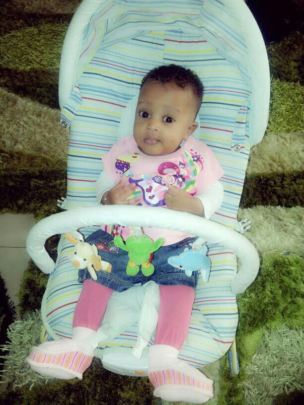 photos-Ndella, la mignonne fille de Waly et Sokhna Aidara