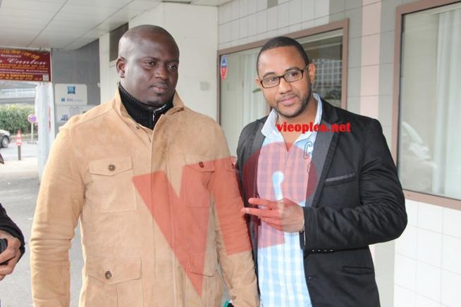 Quand deux promoteurs se rencontrent, Aziz Ndiaye de la lutte et Rakhou de la musique.