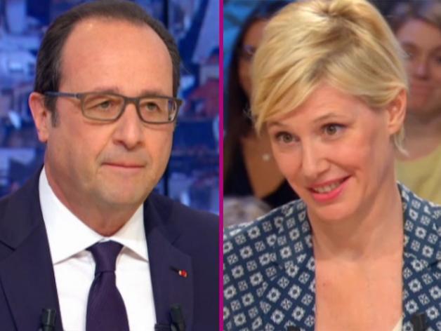 Les dîners secrets de François Hollande et Maïtena Biraben