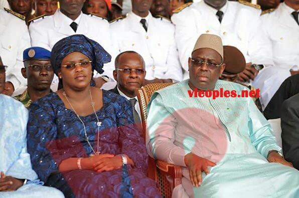 10 IMAGES:Une premiére dame pas comme les autres: Marième FAYE SALL La sainte conseillère et épouse dévouée  de son mari de Président