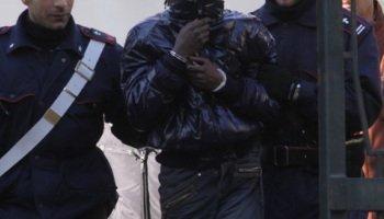 Milan : Un 'Modou-Modou' arrêté pour viol, vols et agressions à main armée