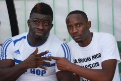 """Un pari réussi pour """"Da Brains Prod. Revivez en images le """"choc"""" entre Rappeurs et Mbalaxmen"""