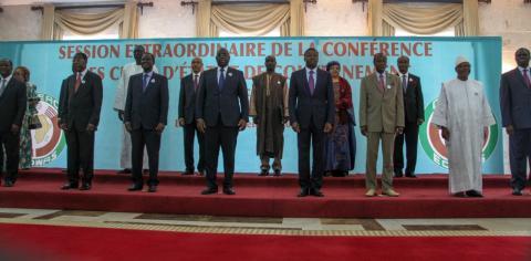Communiqué final de la session extraordinaire de la conférence des Chefs d'Etat et de gouvernement sur la crise au Burkina Faso