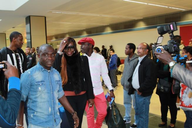 21PHOTOS: Les premiéres images  de la diva Coumba Gawlo et son groupe à Paris pour ses 25 ans de carrières ce samedi 10 octobre au Dock Haussan