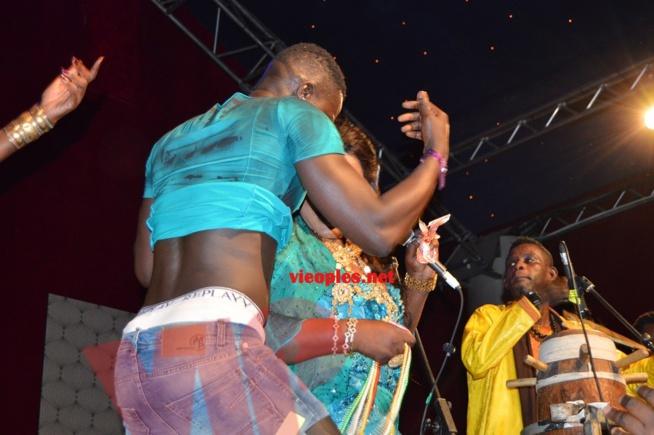 Ngoné Ndiaye Guéweul chauffe le Dock Haussman .