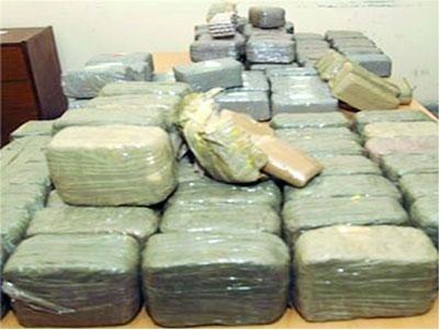 Appréhendé avec 175 kg de chanvre indien, le trafiquant tente de corrompre les policiers avec 500 mille FCfa