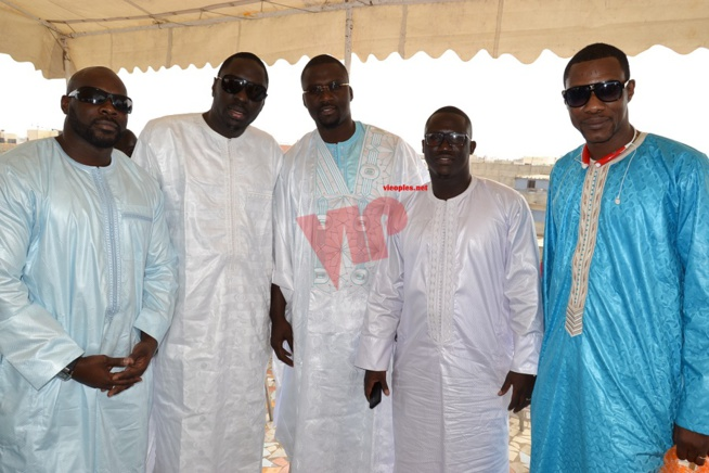 Bapteme: Le manager de la reine du djolof band Djidiack Diouf baptise sa fille et la donne le nom de Mame Diarra Vviane Chidid