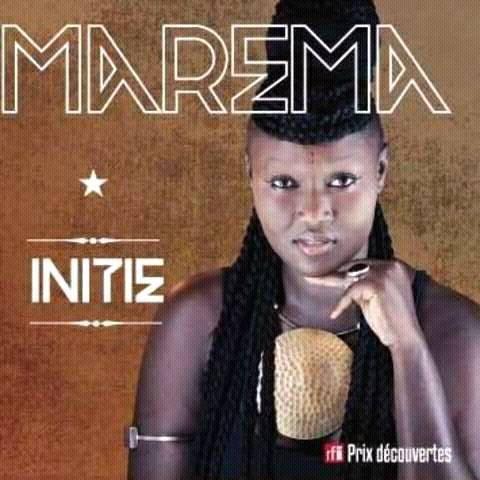 """Marema, révélation du prix découverte de la RFI 2015 lance son premier album """"INITIE""""."""