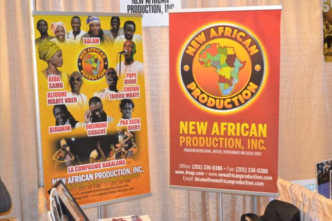 Pape Diouf en tournée Américaine au mois de Juillet 2016 avec la compagny New African Production INC.