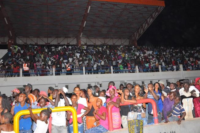 "TOURNEE NATIONALE: Pape Diouf dompte la population de Tamba, le stade municipal au rytme de ""Maalaw"""