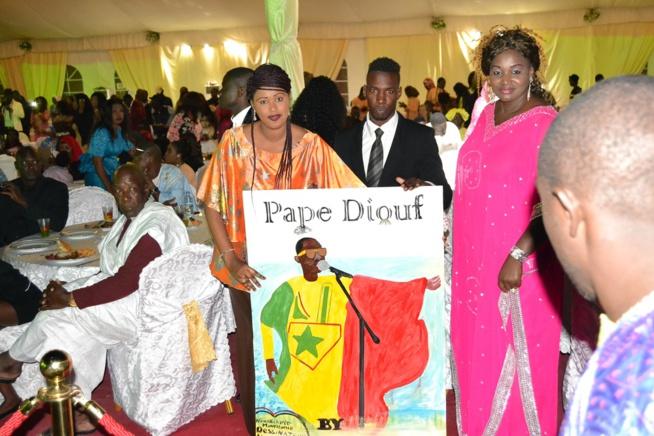 Dîner  de gala Ambassador de Nouakchott: Pape Diouf assure, chauffe et explose  les Mauritaniens à guichet fermé
