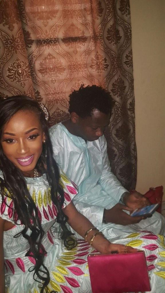 Les images sublimes du mariage de Anna Diouf, Miss Sénégal