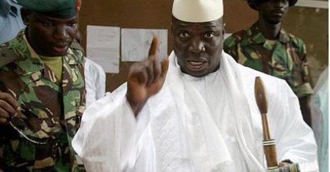 Pour narguer ses détracteurs, Yaya Jammeh entame une tournée nationale