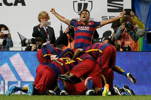 Le FC Barcelone remporte la Coupe du Roi contre Séville et s'offre le doublé