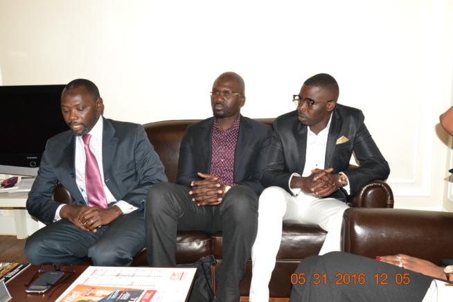 Audience: SEM Bassirou Séne Ambassadeur du Sénégal à Paris reçoit les organisateurs du Bercy de Waly Seck,Sen Art Vision & Vouzenou.