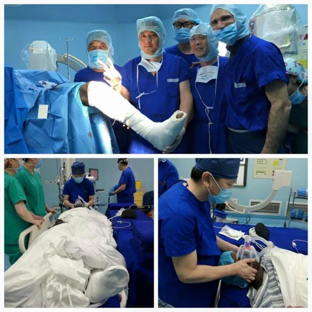 PHOTO: Demba Bâ a subi une opération chirurgicale avec succès !