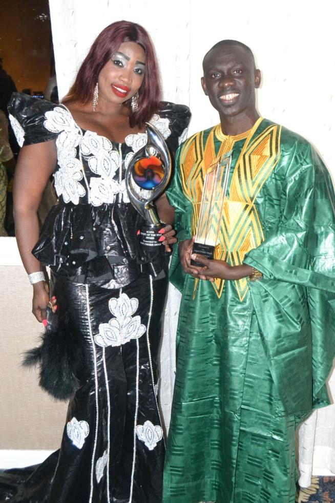 Pape Diouf honnoré à Philadelphia: Award de l'artiste de l'année et award pour sa contribution Africa's musical Heritage