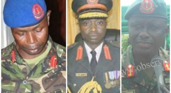 Gambie : Trois officiers de l'armée arrêtés suite à l'incendie du siège du parti de Jammeh