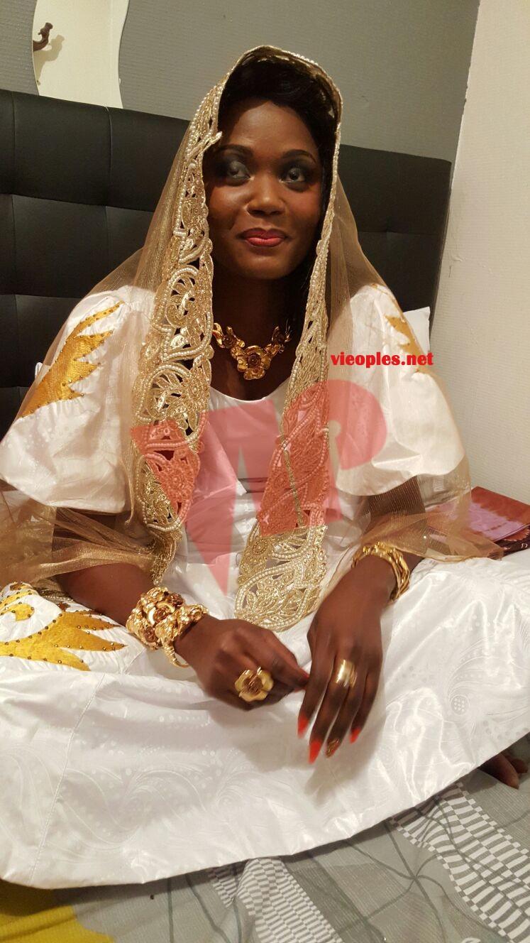 En exclusivité les images du mariage de l'ex mannequin Gazelia Fall.