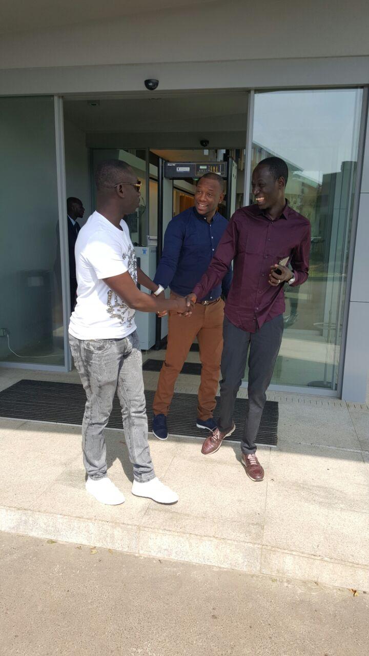 Rencontre avec les hommes d'affaires